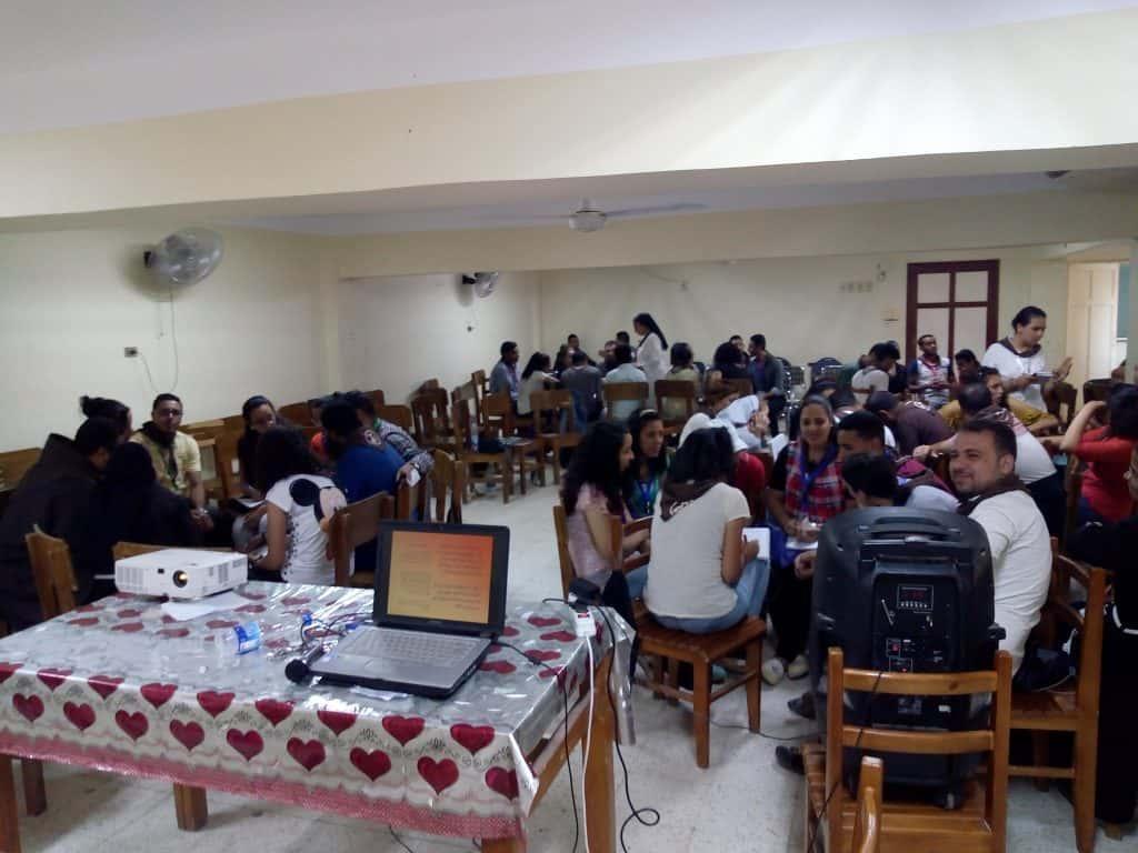 Copt Catholic youth Meeting