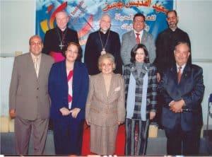 With his Beatitude Patrirach Antonios Naguib 2010