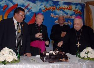 Patriarch and Bishops visit to SJI